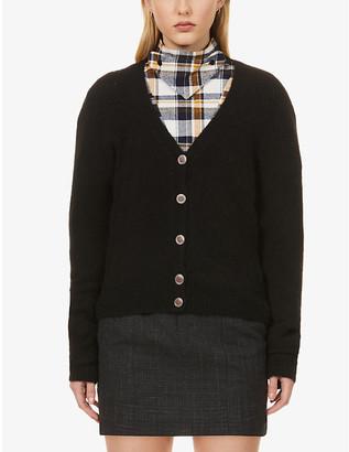 Sessun Swann V-neck knitted cardigan