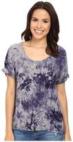 Three Dots Nadine Scoop Neck Dolman T-Shirt