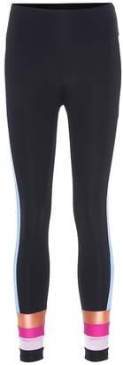 Lanston Sport Streak Stripe leggings