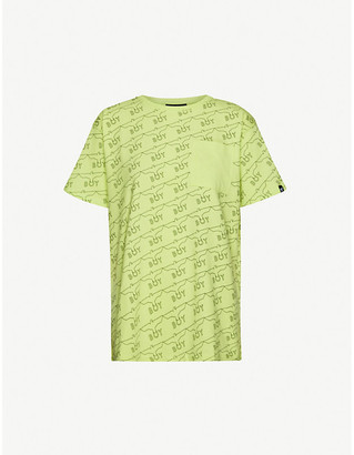 Boy London Eagle logo-print cotton-jersey T-shirt