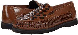 Deer Stags Tijuana Huarache (Black Leather) Men's Slip-on Dress Shoes