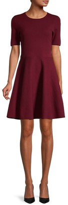 Saks Fifth Avenue Cotton-Blend Fit-&-Flare Dress