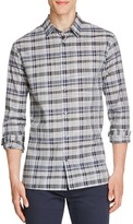 Vince Melrose Multi Plaid Slim Fit Button Down Shirt