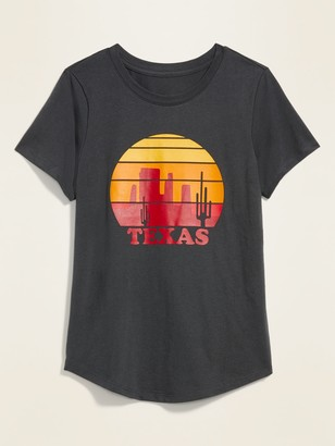 Old Navy Texas Graphic Short-Sleeve Tee for Women