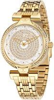 Just Cavalli Women's 42mm Gold-Tone Steel Bracelet & Case Quartz Analog Watch R7253579501