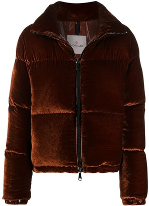 Moncler High-Neck Padded Jacket