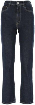 Prada Logo Denim Jeans
