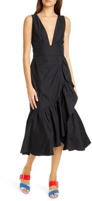 Rebecca Taylor Sleeveless Taffeta Dress