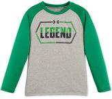 Under Armour Little Boys' Raglan-Style Graphic-Print T-Shirt