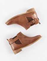 Boden Leather Buckle Boots