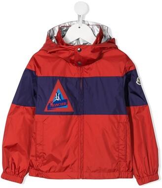 Moncler Enfant Colour Block Shell Jacket