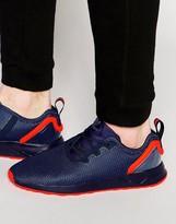 Adidas Originals Asymmetrical Zx Flux Trainers Aq3167