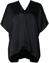 Nili Lotan Citrine V-neck blouse