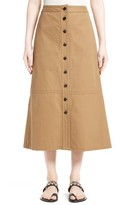 Yigal Azrouel Women's Button Front Midi Skirt