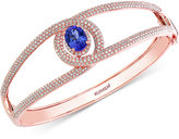 Effy Tanzanite (1-3/4 ct. t.w.) and Diamond (2 ct. t.w.) Bangle in 14K Rose Gold