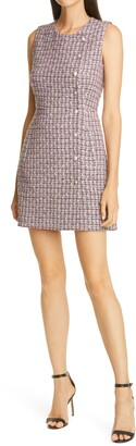 Veronica Beard Cutler Tweed Minidress