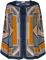 Rosetta Getty geometric kaftan shirt