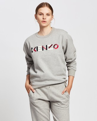 Kenzo Classic Fit Logo Sweater