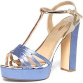 Dorothy Perkins Womens Blue 'Serafina' Platform Sandals- Blue