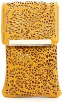 Lucky Fifty7 Vintage Laser Cut Design Cell Phone Pouch Case Holder