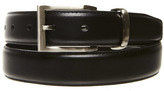 Oxford Arlen Leather Belt Black