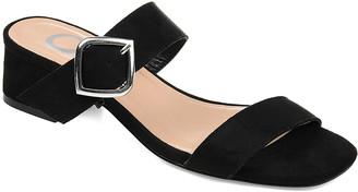 Santana Journey + Crew Women's Sandals Black - Black Slide - Women