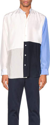 Jil Sander Long Sleeve Shirt in Natural   FWRD