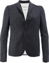 Rochas concealed front blazer