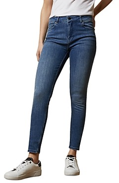 Ted Baker Iriina Skinny Jeans in Mid Wash