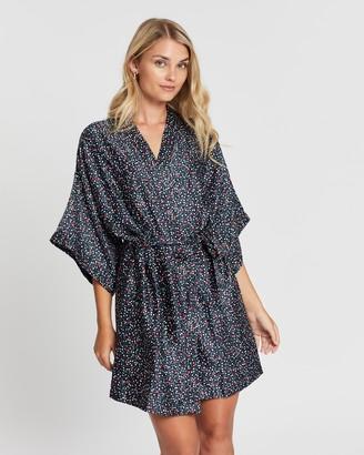 Cotton On Satin Kimono Gown