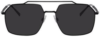 Dolce & Gabbana Black Gros Grain Sunglasses