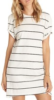 Billabong Women's Down Time Stripe T-Shirt Dress