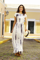 Shabby Apple Santanna Maxi Dress White-LIMITED EDITION