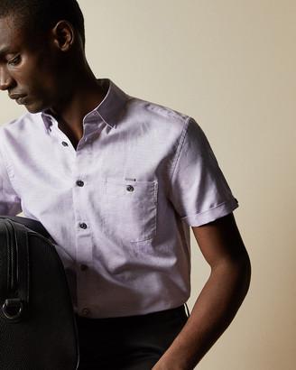Ted Baker HAVEFUN Linen blend shirt