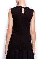 MANGO Sequins t-shirt