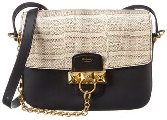 Mulberry Keeley Snakeskin & Leather Shoulder Bag