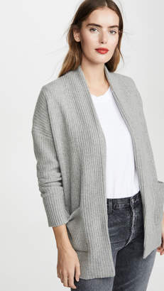 White + Warren Luxe Pocket Cashmere Cardigan