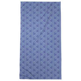 ArtVerse Patricia Geoffrey Full Color Zig Zag Pattern Beach Towel - Poly/Cotton