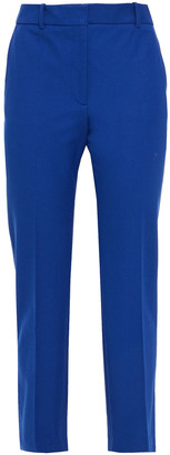 Joseph Coleman Cropped Stretch-gabardine Straight-leg Pants