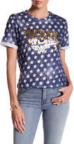 Eleven Paris ELEVENPARIS Wonder Woman Star Print Tee