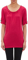 Alberta Ferretti WOMEN'S SPLIT-SLEEVE TOP