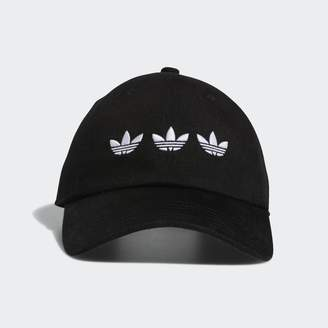 adidas Triple Trefoil Strap-Back Relaxed Hat