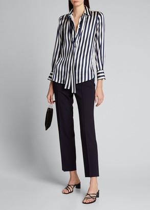 Kiton Side Zip Skinny Pants