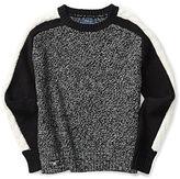 Ralph Lauren Contrast Cable Stripe Sweater