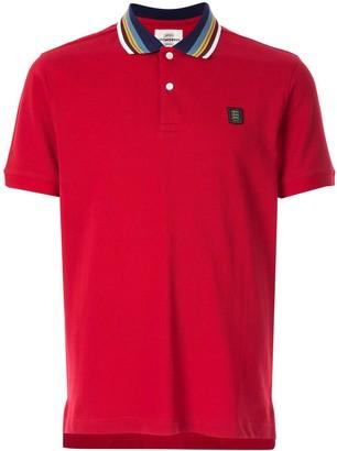 Kent & Curwen Contrasting Collar Polo Shirt