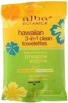 Alba 3 In 1 Hawaiian Towelettes, 10 Count