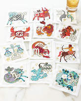 Kim Seybert Zodiac Cocktail Napkins, 12-Piece Set