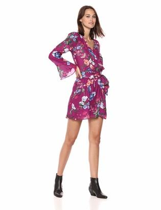Parker Women's Amanda Long Flared Sleeve Short Dress