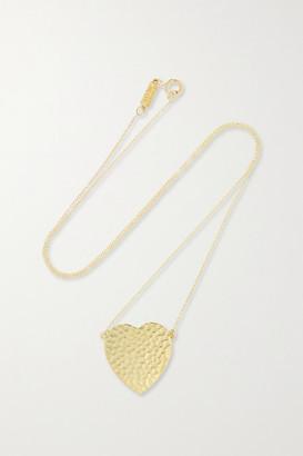 Jennifer Meyer Hammered 18-karat Gold Necklace - one size