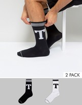 Tommy Hilfiger Crew Sock In 2 Pack